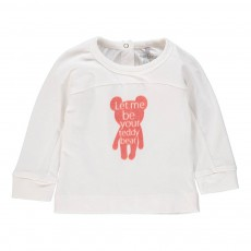 T-Shirt Teddy Blanc