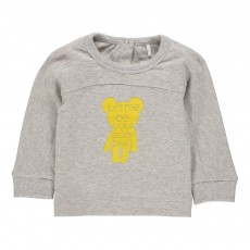 T-Shirt Teddy Gris chiné