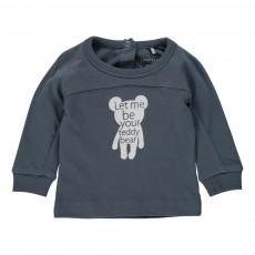 T-Shirt Teddy Bleu pétrole