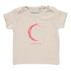 T-Shirt Lune Ecru chiné