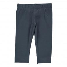 Pantalon Jersey Slim  Bleu pétrole