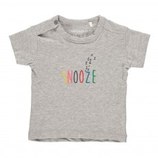 T-Shirt Snooze Gris chiné