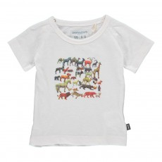 T-Shirt Animaux Blanc