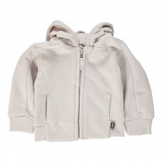 Sweat Molleton Capuche Gris