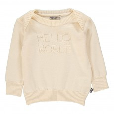 Pull Hello World Blanc