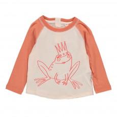 T-shirt Bicolore Grenouille Max Corail