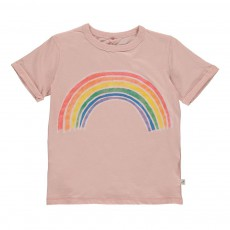 T-shirt Arc En Ciel Lolly Rose poudré