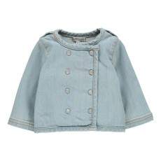 Veste Denim Lucien Denim bleached