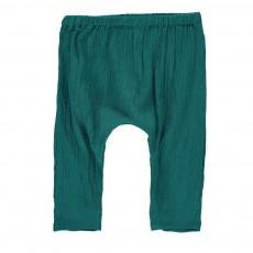 Pantalon Jungle Bébé Vert émeraude