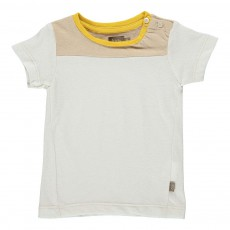 T-Shirt Boutons Larry Sable