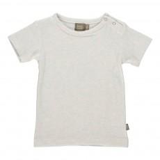 T-Shirt Coton Bio Bieb Ecru