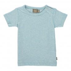 T-Shirt Coton Bio Bieb Bleu