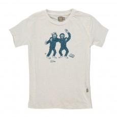 T-Shirt Singes Bieb Ecru