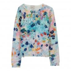 Cardigan Fleurs Haggie Multicolore