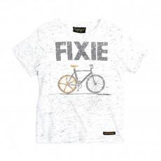 T-shirt Fixie Dalton Ecru chiné
