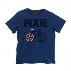 T-shirt Fixie Dalton Bleu