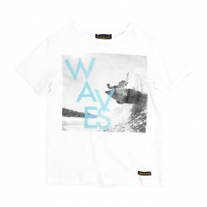 T-shirt Waves Dalton Blanc