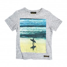 T-shirt Surf Boy Dalton Gris chiné