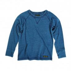 T-shirt Manches Longues Neal Bleu indigo