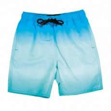 Short De Bain Tie&Dye Good Boy Bleu turquoise