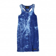 Robe Tie&Dye Gwyneth Bleu jean