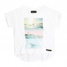 T-shirt Surf Britney Blanc