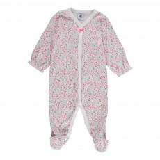 Pyjama Pieds Doll Maniere Vert d'eau