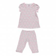 Pyjama Court Mareva Blanc