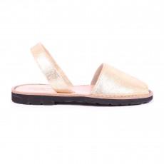 Sandales Avarca Doré