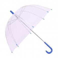 Parapluie Transparent Bleu