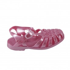Sandales en plastique Rose