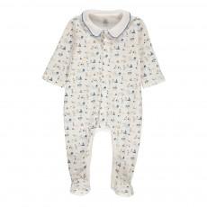 Pyjama Pieds Madaleno Blanc