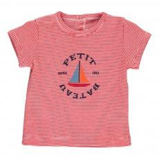 T-shirt Maritime Rouge