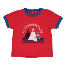 T-shirt imprimé Mekki Rouge