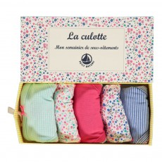 Lot de Cinq Culottes Multicolore