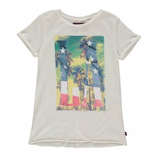 T-Shirt Larico Blanc cassé