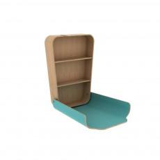 Table à langer Noga - Bleu turquoise