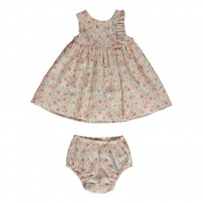Ensemble Robe Bloomer Fleurs Multicolore