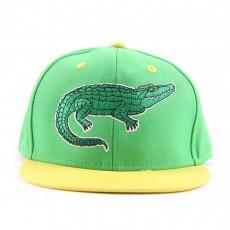 Casquette Crocodile Vert