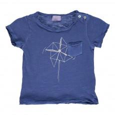 T-shirt Moulin A Vent Bleu indigo