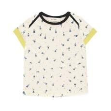 T-shirt Badminton Playtime Blanc
