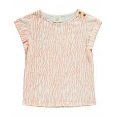 T-shirt De Bon Poil Abricot