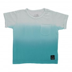 T-Shirt Tie & Dye Tilly Bleu turquoise