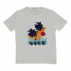 T-shirt Miami Vice Ecru