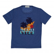 T-shirt Miami Vice Bleu