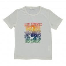 T-shirt Jimi Hendrix  Ecru