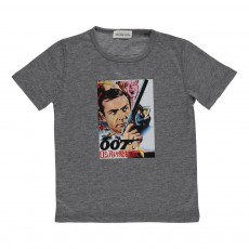T-shirt 007  Gris chiné