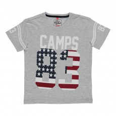 T-shirt 83 Gris chiné