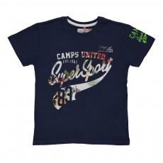 T-shirt Super Sport Bleu marine