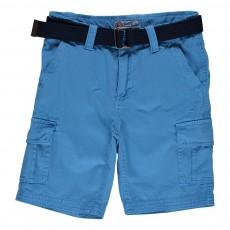 Bermuda Cargo Bleu jean
